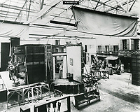 1917 Movie sets at the American Film Co., Santa Barbara, CA.