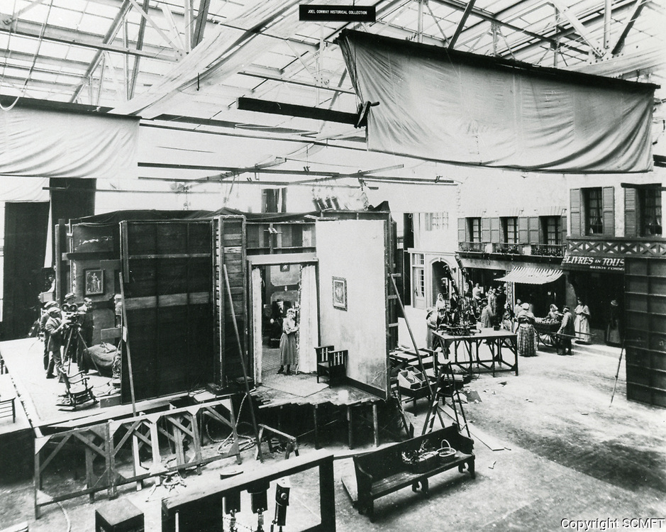 1917 Movie sets at the American Film Co., Santa Barbara, CA.