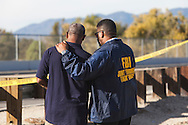 Shooting in San Bernardino.<br /> FBI Joint Terrorism Task Force agents at the command center.