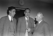 04/02/1963<br /> 02/04/1963<br /> 04 February 1963<br /> Directors of  Merville Dairy's at Merville Dairy's, Finglas, Dublin. (l-r) Mr. Roy Craigie, Director and Mr. Victor Craigie, Director, Merville Dairy.
