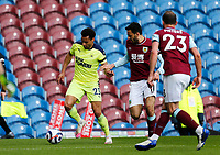Football - 2020 / 2021 Premier League - Burnley vs. Newcastle United<br /> <br /> Jacob Murphy of Newcastle United goes past Matt Ritchie of Newcastle United, at Turf Moor.<br /> <br /> <br /> COLORSPORT/ALAN MARTIN