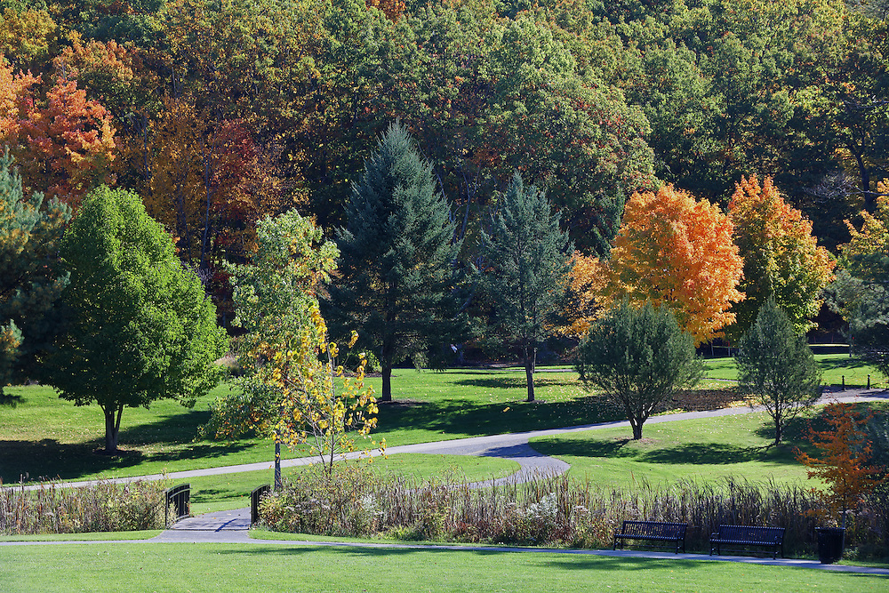 New England walk in the park at Green Hill Park in Worcester, MA featuring fall colors on a beautiful October picture perfect autumn day. Fall foliage showing their stunning display along the banks of Green Hill Pond. The urban greenspace provides local recreation and is located atop one of Worcester's seven main hills. The public park is home to the Massachusetts Vietnam Veterans' Memorial. Green Hill Park photos are available as museum quality photography prints, canvas prints, acrylic prints or metal prints. Prints may be framed and matted to the individual liking and room decor needs:<br /> <br /> http://juergen-roth.pixels.com/featured/worcester-green-hill-park-juergen-roth.html<br /> <br /> Good light and happy photo making!<br /> <br /> My best,<br /> <br /> Juergen<br /> Licensing: http://www.rothgalleries.com<br /> Photo Prints: http://fineartamerica.com/profiles/juergen-roth.html<br /> Photo Blog: http://whereintheworldisjuergen.blogspot.com<br /> Instagram: https://www.instagram.com/rothgalleries<br /> Twitter: https://twitter.com/naturefineart<br /> Facebook: https://www.facebook.com/naturefineart