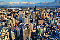 Core of Downtown Seattle