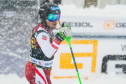 Gstrein Fabio (AUT) during the Audi FIS Alpine Ski World Cup Men's  Slalom at 60th Vitranc Cup 2021 on March 14, 2021 in Podkoren, Kranjska Gora, Slovenia Photo by Grega Valancic / Sportida