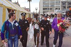 Cosmas Ndeti, Winner Of The Boston Marathon 1993