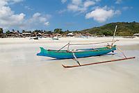 Indonesie. Lombok. Plage de Selong Blanak. Region de Kuta au sud de Lombok. // Indonesia. Lombok. Selong Blanak beach near Kuta, south of Lombok.