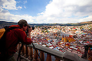 View from El Pipila, Guanajuato, Mexico
