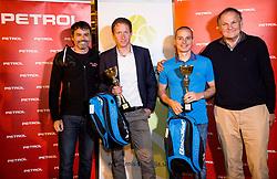 Rok Vodnik, Uros Mesojedec, Blaz Jakic and Marko Umberger at  Petrol VIP tournament 2018, on May 24, 2018 in Sports park Tivoli, Ljubljana, Slovenia. Photo by Vid Ponikvar / Sportida