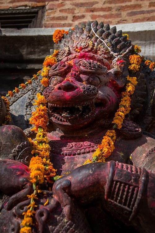 Narasimha, the Protector is an avatar of the Hindu god Vishnu.
