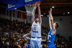Kadras  Konstantinos of Greece during basketball match between National teams of Greece and Slovenia in the Group Phase C of FIBA U18 European Championship 2019, on July 29, 2019 in  Nea Ionia Hall, Volos, Greece. Photo by Vid Ponikvar / Sportida