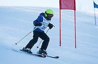 Gunstock Ski Club's U8 and U10 race day.
