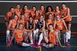 10-05-2018 NED: Team shoot Dutch volleyball team women, Arnhem