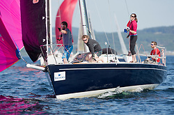 Silvers Marine Scottish Series 2017<br /> Tarbert Loch Fyne - Sailing<br /> <br /> GBR8272T, Satisfaction, Nicholas Marshall, St Mary's Loch SC, J 92<br /> <br /> Credit Marc Turner / PFM