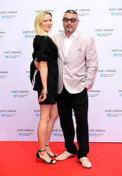 Huey Morgan and Rebecca Morgan attending the End the Silence Charity Fundraiser at Abbey Road Studios, London.