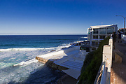 Bondi Icebergs locked down due to unacceptable crowds la few weeks ago. Recent social distancing rules were ignored and as a result the government had to close Bondi Beach.
