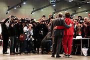 Saskia Esken und Norbert Walter Borjans beim SPD Bundesparteitag in Berlin, Deutschland, 6. Dezember 2019