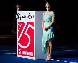 September 29, 2018 - Caroline Wozniacki of Denmark during the opening ceremony of the 2018 China Open WTA Premier Mandatory tennis tournament (Credit Image: © AFP7 via ZUMA Wire)