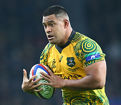 November 24, 2018 - London, England, United Kingdom - London, UK, 24 November, 2018.Australia's Scott Sio .during Quilter International between England  and Australia at Twickenham stadium , London, England on 24 Nov 2018. (Credit Image: © Action Foto Sport/NurPhoto via ZUMA Press)
