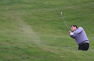Sam Walker (ENG) on the 8th fairway during Round 1 of the Volopa Irish Challenge in Tullow, Co. Carlow on Thursday 8th October 2015.<br /> Picture:  Thos Caffrey / www.golffile.ie