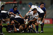 John Ulugia during the Western Force v ACT Brumbies Super 14 rugby union round 14 match played at Subiaco Oval, Perth Western Australia on Friday 16th May 2007. Force 29 defeated the Brumbies 22. Photo: Clay Cross/PHOTOSPORT