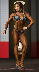 Sept.16, 2016 - Las Vegas, Nevada, U.S. -  SANDRA GRAJALES ROMERO competes in the Figure Olympia contest during Joe Weider's Olympia Fitness and Performance Weekend.(Credit Image: © Brian Cahn via ZUMA Wire)
