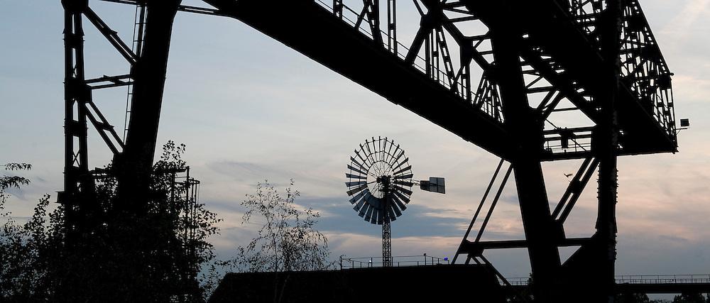 Duitsland, Duisburg, 20 juli 2010.Landschaftspark Duisburg-Nord...Foto (c) Michiel Wijnbergh..