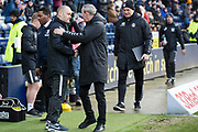 Preston North End manager Alex Neil and Charlton Athletic manager Lee Bowyer shaking hands before the EFL Sky Bet Championship match between Preston North End and Charlton Athletic at Deepdale, Preston, England on 18 January 2020.