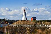 Mulholland Lighthouse, New Brunswick,.Campobello, Canada