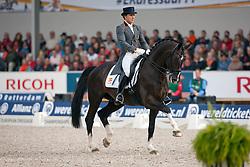 Domingo Coll Jordi (ESP) - Prestige<br /> European Championship Dressage - Rotterdam 2011<br /> © Dirk Caremans