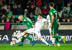 Tomislav Tomić of Olimpija vs Martin Kramarič of Maribor during Football match between NK Olimpija and NK Maribor in 23rd Round of Prva liga Telekom Slovenije 2018/19 on March 16, 2019, in SRC Stozice, Ljubljana, Slovenia. Photo by Vid Ponikvar / Sportida