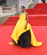Tuesday 28 September 2021<br />Bond: No Time To Die - world film. premiere <br />The Royal Albert Hall<br /> Lashana Lynch