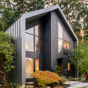 Home designed by Zeke Busch Architects and built by Krekow Jennings.