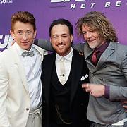 NLD/Amsterdam/20190415 - Filmpremiere première Baantjer het Begin, Waldemar Torenstra, Arne Toonen en Tygo Gernadt