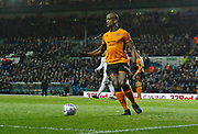 Wolverhampton Wanderers defender Willy Boly during the EFL Sky Bet Championship match between Leeds United and Wolverhampton Wanderers at Elland Road, Leeds, England on 7 March 2018. Picture by Paul Thompson.