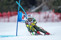 14.02.2020, Zwölferkogel, Saalbach Hinterglemm, AUT, FIS Weltcup Ski Alpin, Super G, Herren, im Bild Travis Ganong (USA) // Travis Ganong of the USA in action during his run for the men's SuperG of FIS Ski Alpine World Cup at the Zwölferkogel in Saalbach Hinterglemm, Austria on 2020/02/14. EXPA Pictures © 2020, PhotoCredit: EXPA/ Johann Groder