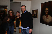 STOCKARD CHANNING, SUNNY JACOBS AND AIDEN QUINN, 'The Exonerated' Riverside Studios. 24 February 2006. ONE TIME USE ONLY - DO NOT ARCHIVE  © Copyright Photograph by Dafydd Jones 66 Stockwell Park Rd. London SW9 0DA Tel 020 7733 0108 www.dafjones.com