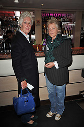 Left to right, PHILEDA DARE and VANDA PELLY at a screening hosted by 'The Volunteer' of a documentary film of work in Haiti, held at the Courthouse Hilton Hotel, 19-21 Great Malborough Street, London on 29th March 2011.