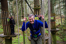 Willie Rennie goes ape on the campaign trail | Peebles | 4 April 2016