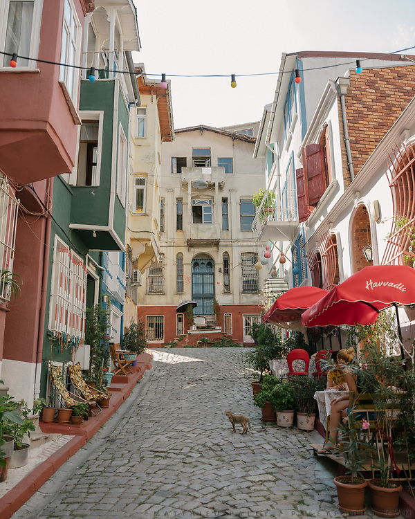 Life in and around the old Greek quarter of Fener-Balat.