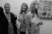 LIZ HARPER; LYNNE NATHAN; CELIA IRVIN; , Albert Irvin: Painting the Human Spirit - private view<br /> Exhibition dedicated to the memory of Albert Irvin who passed away in March 2015. Private view held on anniversary of Irvin's birthday .Gimpel Fils Gallery, 30 Davies Street, London, 21 August 2015.