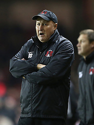 Leyton Orient Manager, Russell Slade on the touchline - Photo mandatory by-line: Matt Bunn/JMP - Tel: Mobile: 07966 386802 26/11/2013 - SPORT - Football - Bristol - Ashton Gate - Bristol City v Leyton Orient - Sky Bet League One