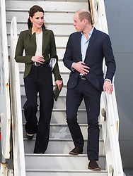 The Duke of Cambridge and Duchess of Cambridge arrive at RAF Akrotiri in Cyprus where they greeted service personnel and thanked them for their continued service over the festive season.<br /><br />5 December 2018.<br /><br />Please byline: Vantagenews.com