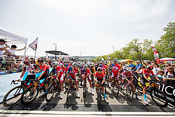 Start during Slovenian National Road Cycling Championships 2021, on June 20, 2021 in Koper / Capodistria, Slovenia. Photo by Vid Ponikvar / Sportida