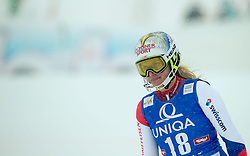 29.12.2014, Hohe Mut, Kühtai, AUT, FIS Ski Weltcup, Kühtai, Slalom, Damen, 2. Durchgang, im Bild Denise Feierabend (SUI) // Denise Feierabend of Switzerland reacts after 2nd run of Ladies Giant Slalom of the Kuehtai FIS Ski Alpine World Cup at the Hohe Mut Course in Kuehtai, Austria on 2014/12/29. EXPA Pictures © 2014, PhotoCredit: EXPA/ JFK