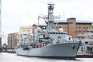 HMS Westminster Ship Open To Visitors