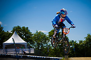 #52 (HLADIKOVA Aneta) CZE at the UCI BMX Supercross World Cup in Papendal, Netherlands.