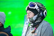 Devin Logan during Women's Ski Superpipe Practice during 2015 X Games Aspen at Buttermilk Mountain in Aspen, CO. ©Brett Wilhelm/ESPN