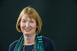 Pictured: Harriet Ruth Harman, QC is a British solicitor and Labour Party politician who has been a Member of Parliament since 1982, first for Peckham, and then for its successor constituency of Camberwell and Peckham since 1997<br /> <br /> Book fanatics headed to Charlotte Square in Edinburgh which is the hub of the international Book Festival to meet the authors and also to meet up with fellow fans of the printed word.<br /> <br /> 27 August 2017