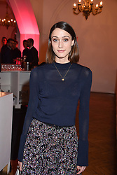 Sophie Hopkins at the Floral Ball in aid of Sheba Medical Center hosted by Laura Pradelska and Zoe Hardman and held at One Marylebone, 1 Marylebone Road, London England. 14 March 2017.