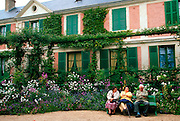 FRANCE, PARIS, SURROUNDINGS Giverny, Home of the artist Monet famous for its gardens which were the subjects of much of his art